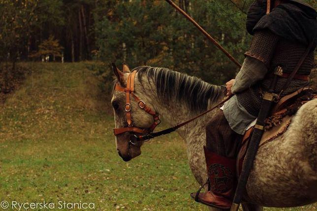 Siodło, kulbaka - polish, cavalry, historical saddle