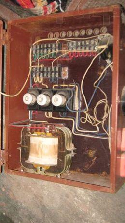 Продам металлический ящик под электросчётчик.