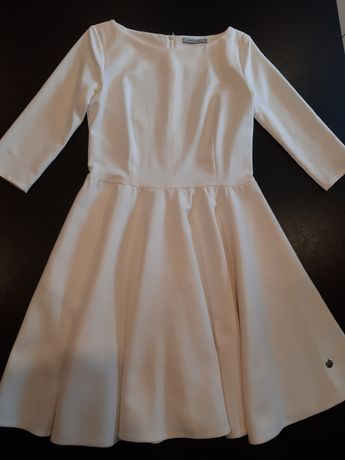 Sukienka Lemonada, ecru, elegancka, rozm 36
