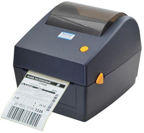 Термо принтер этикеток наклеек Новой почты Xprinter XP450B 427 425 470