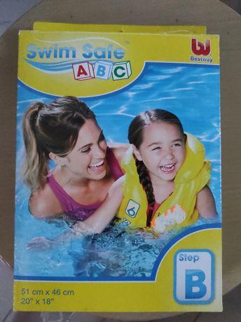 Colete crianças natação