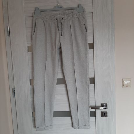 Spodnie dzianinowe plus size