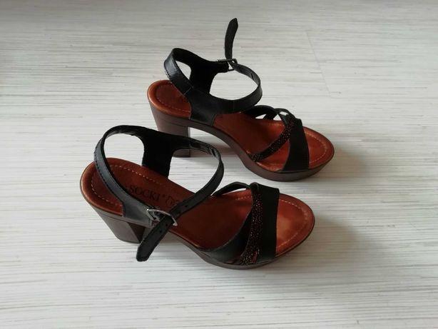Sandałki Lasocki Czarne r. 36