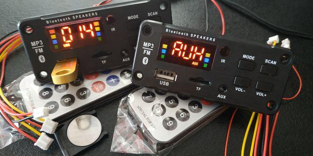 NEW! Bluetooth 5.0 MP3 WAV WMA аудио плеер модуль декодер USB FM