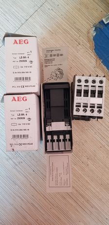 контактор магнітний пускач. AEG LS 5K-4