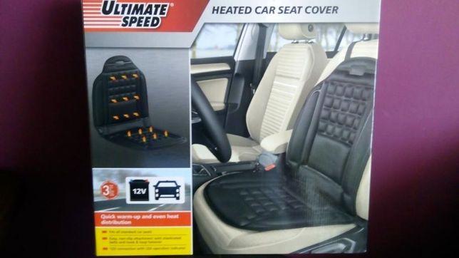 Nakładka na fotel samochodowy ogrzewana