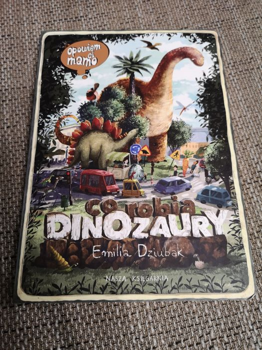 Książka edukacyjna dinozaury Ruda Śląska - image 1