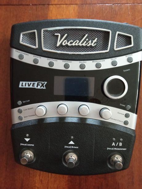 Гармонайзер вокальний процессор процесор Digitech vocalist live fx usa