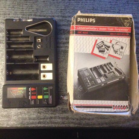 Philips SBC 169S uniwersalny tester baterii i żarówek