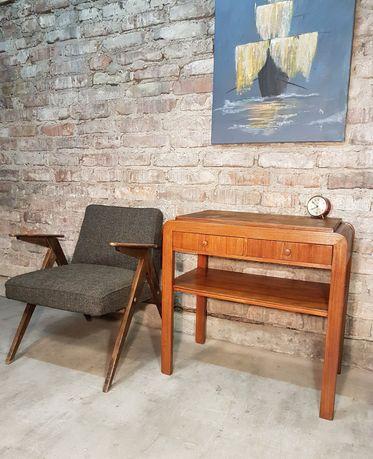 Stolik, konsolka vintage prl klasyk