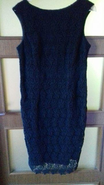 Sukienka czarna koronkowa ORSAY 40