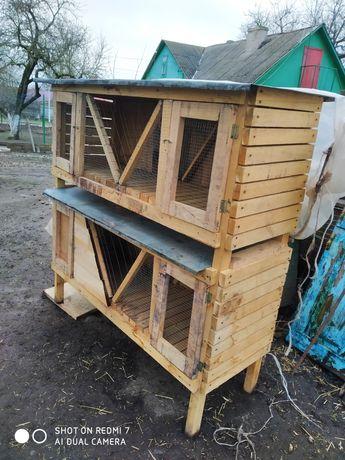 Продам клітку для кролів