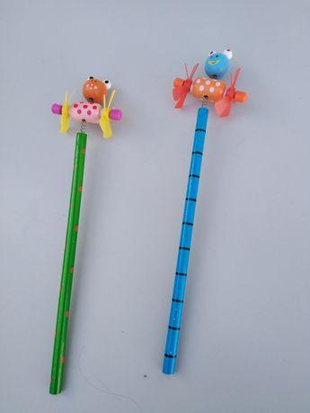 2 lápis novos artesanais
