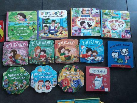 Zestaw 25 książeczek dla dziecka / malucha