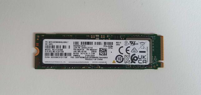 Dysk SSD Samsung PM981a 256 GB M.2 2280 PCI-E x4 Gen3 NVMe (Lenovo)