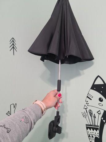 Parasol do wózka czarny