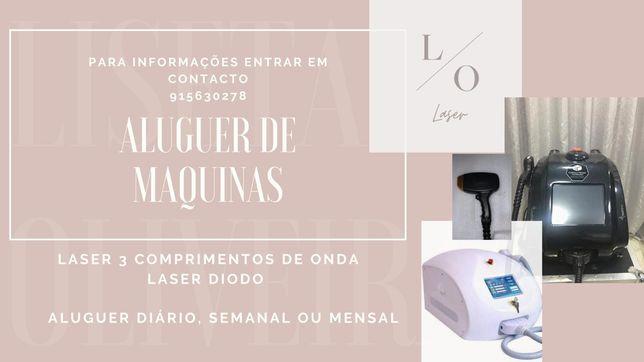 Aluguer maquina 3 Cumprimentos Onda / Laser Díodo
