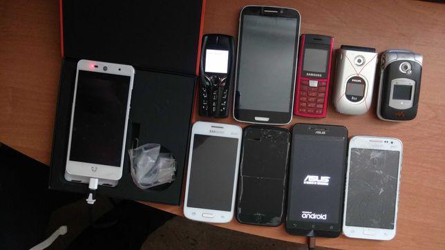 Одним лотом-Wileyfox 2/16. Asus Zenfon 2/8.Samsungi.iPhone 5 и другие+