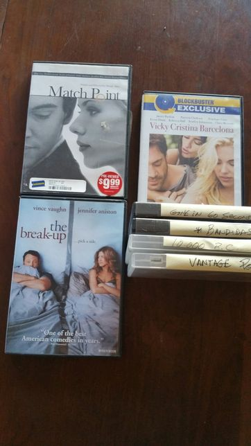 7 Dvd Titulos originais em Ingles