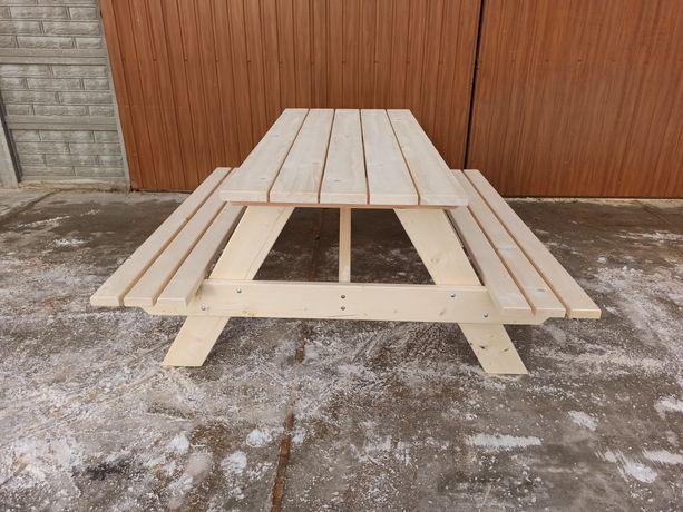 Stół piknikowy, meble ogrodowe, stół drewniany