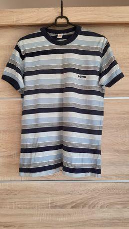 Koszulka w paski Levis rozmiar M.