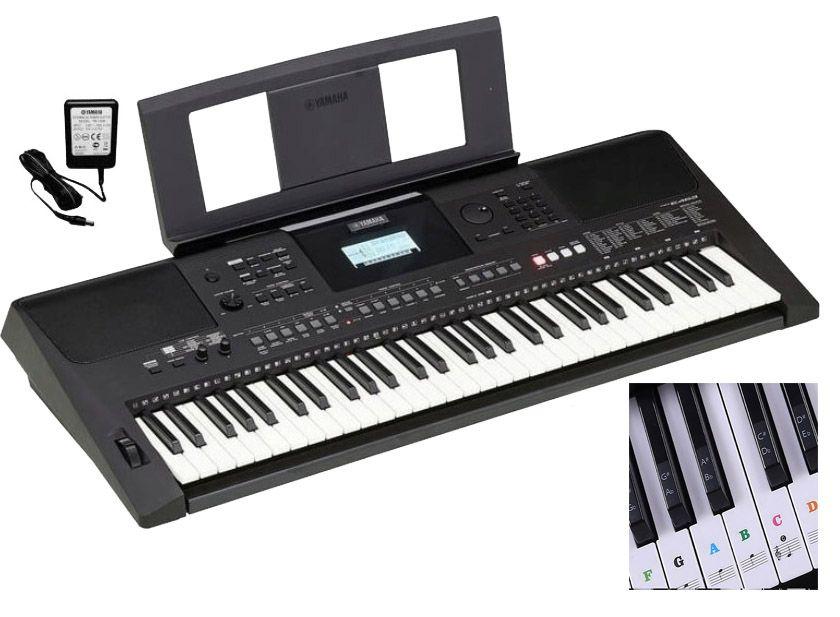 YAMAHA PSR-E463 Keyboard do nauki z USB + Naklejki + Słuchawki GRATIS Wolsztyn - image 1