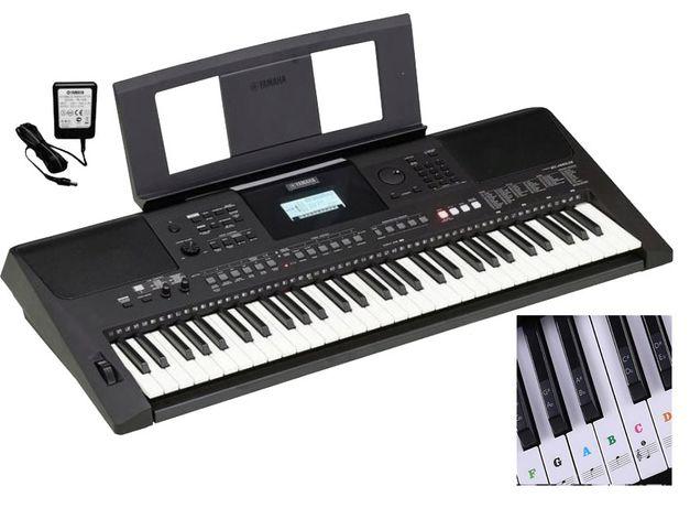 YAMAHA PSR-E463 Keyboard do nauki z USB + Naklejki + Słuchawki GRATIS