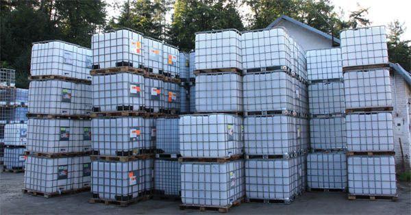 1000l Pojemnik na wodę zbiornik mauzer mauser do wyboru