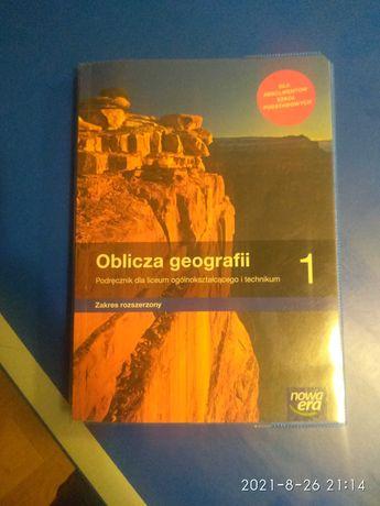 Podręcznik do geografii Nowa Era dla liceum i technikum zakres rozsz.
