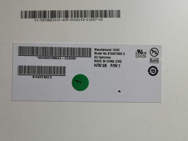 "AUO B156XTN02.0 15,6"" 1366x768 WXGA TFT 720p Glossy LED Display"