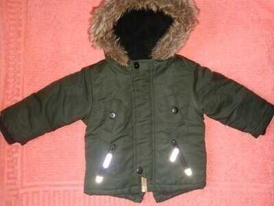 Куртка парка теплая еврозима холодная осень зима Rebel