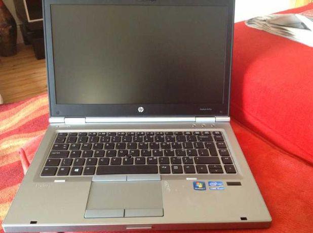 Portátil HP Elitebook 8470p i5 SSD Bateria nova