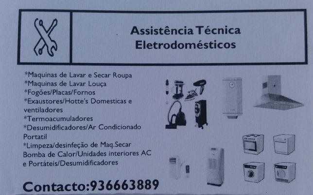 Assistencia técnica para Eletrodomésticos