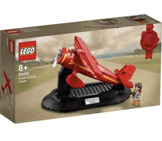 Lego Amelia Earhart Tribute - NOVO