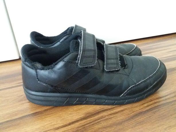 Adidas oryginalne czarne adidasy R 34