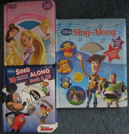 Детские книги на английском Disney Sing-Along