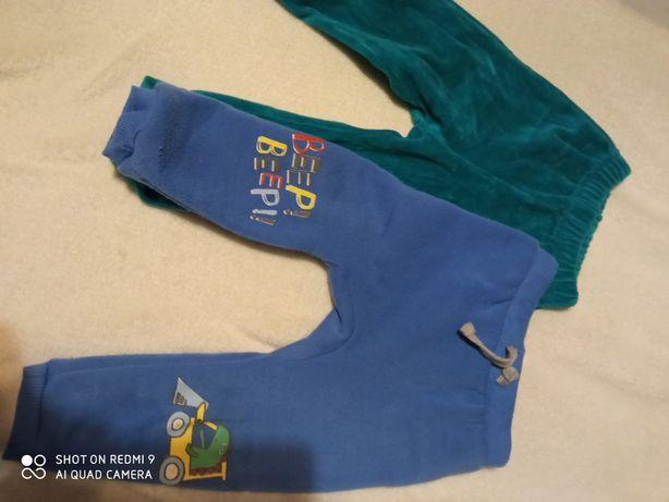 Spodnie rozmiary 74 80
