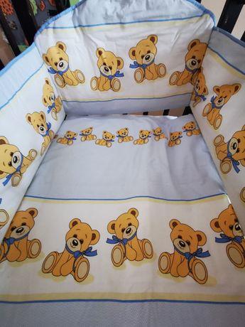 Дитяча постіль в ліжечко бортики балдахін дитячі комплект постілі