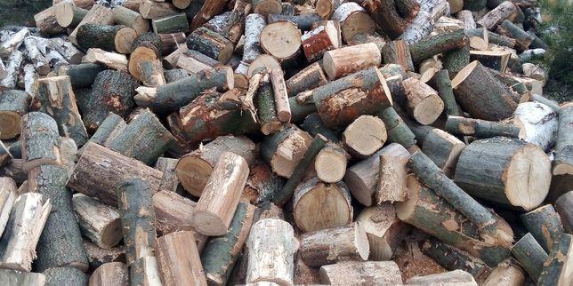 Drewno opałowe kominkowe dąb. Transport.