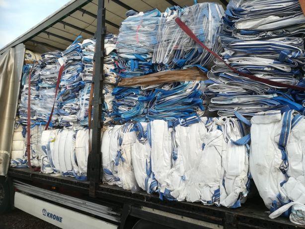 DUŻA ILOŚĆ Worków Big Bag 80/110/147 cm na złom,metale,odpady