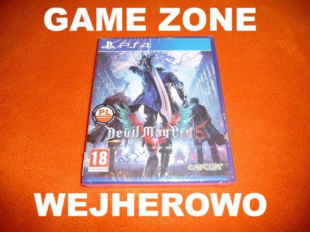Devil May Cry 5 PS4 + Slim + Pro = PŁYTA PL = Wejherowo
