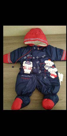 Детский Комбинезон на мальчика 3 месяца, Турция