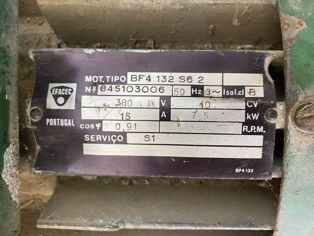Motor elétrico trifásico 10cv