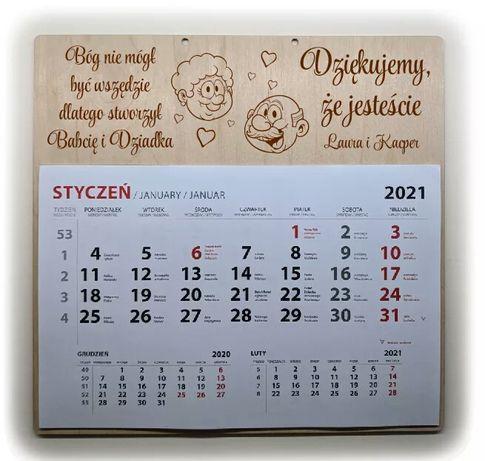 Kalendarz od wnuków Dzień Babci i Dziadka