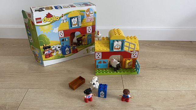 Używany zestaw LEGO DUPLO 10617 Farma stan bdb komplet.