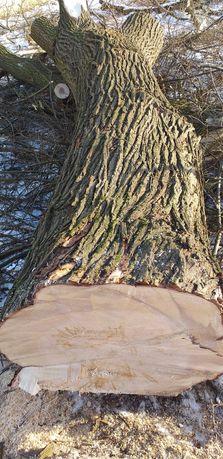 Drewno na palety lub opałowe.