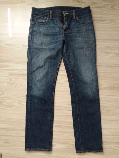 Spodnie dżinsy męskie Levis 511 rozm. W30 L30