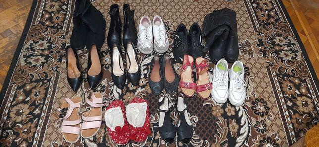 Обувь женская обмен