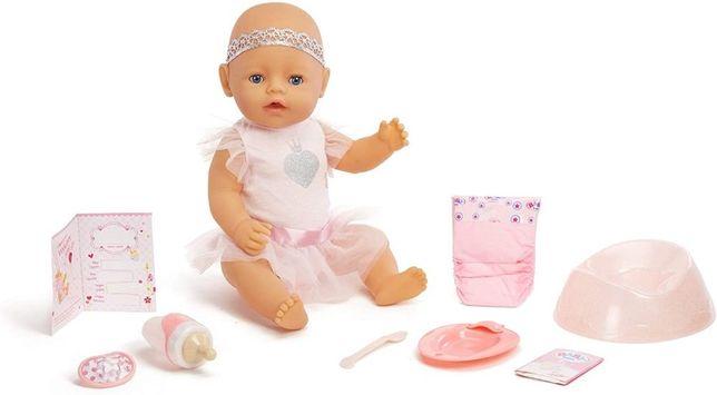 ОРИГИНАЛ!Интерактивный пупс кукла Беби Борн в розовом платье Baby Born