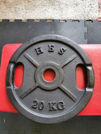 Obciążenie olimpijskie hes 20kg